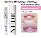 Lip Plumper That Really Work Get Instantly Sexy Lips without lip Filler Injection - Organic Lip Plumping Lipgloss for Fuller & Hydrated Lips, Natural Lip Enhancer LIP GLOSS