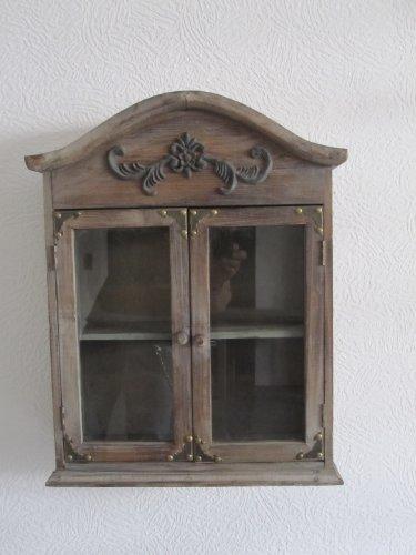 Hängeschrank antik  Hängeschrank Schrank Antik-Look im mediteranen Stil: Amazon.de ...