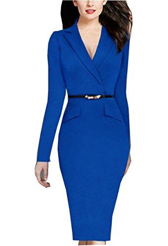 YEEZ Womens Elegant Sleeves Business
