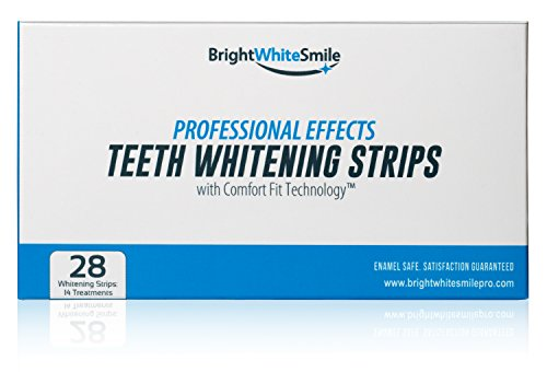 BrightWhite Smile Teeth Whitening Strips, 28 Strips