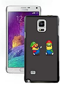 Personalized Custom Picture Samsung Galaxy Note 4,Funny minions Black Samsung Galaxy Note 4 Custom Picture Phone Case