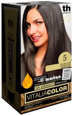 Th Pharma Th Vitalia Color Tinte Nº 5 Castaño Claro Sin Amoniaco 100 g