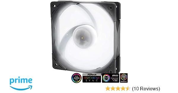 Scythe Kaze Flex 120mm RGB LED Fan, PWM 300-1200 RPM, No Controller Included, Single Pack