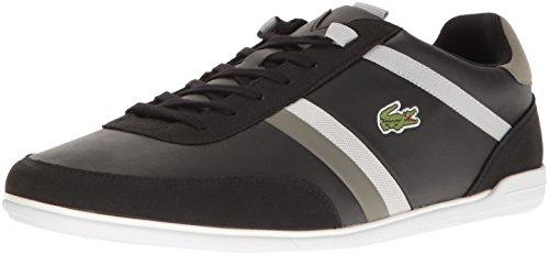 Lacoste Men's Giron 117 1 Casual Shoe Fashion Sneaker, Black, 11.5 M US