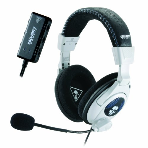 Turtle Beach Call of Duty: Ghosts Ear Force Shadow Limited Edition Gaming Headset -Microsoft Xbox 360