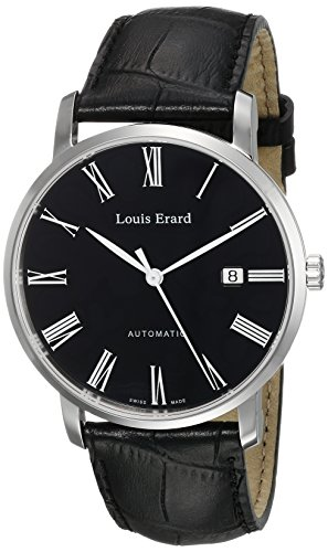 Louis-Erard-Mens-68233AA02BDC29-Excellence-Analog-Display-Automatic-Self-Wind-Black-Watch