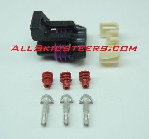 Wiper Plug Repair Kit for Bobcat Skid Steers | Replaces OEM # K-6730123