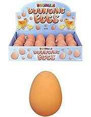6x Huevos Falsos - Pelotas de Goma