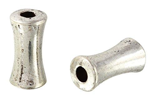 Beads Bone Shaped (195 Pieces 4x8 mm Zinc Alloy Bone Shaped Bead)