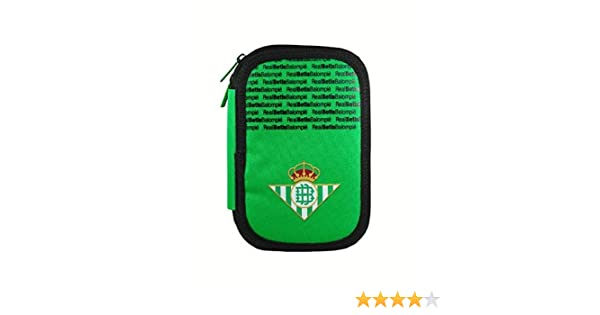 Real Betis Balompie - Plumier Doble Real Betis Balompié Colores ...