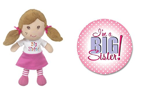 Big Sister Plush Doll and Button from Kelli's