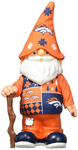 NFL Denver Broncos Real Ugly Sweater Gnome - Busy Block, Blue