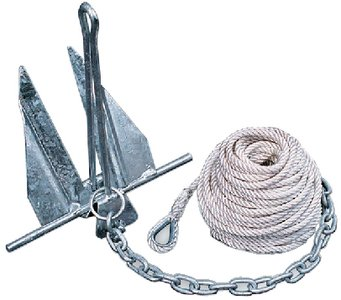 Super Hooker Boat Anchors - 95090 TIED ANC #10 Kit