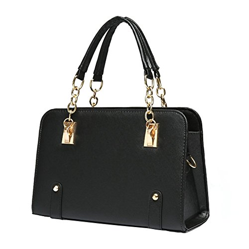 ILISHOP Women's New Fashion Shoulder Bags Top-handle Bags For Ladies Casual Cross-body Bags For Teens Hot Sale - Black Sale