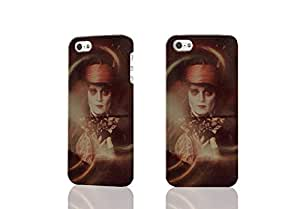 Mad Hatter Alice in Wonderland 3D Rough Case Skin, fashion design image custom , durable hard 3D case cover for iPhone 5 5S , Case New Design By Codystore
