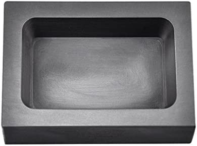 PMC Supplies LLC 1 lb Pound Rectangle Copper CU Graphite Ingot Mold for Melting Casting Refining Scrap Jewelry