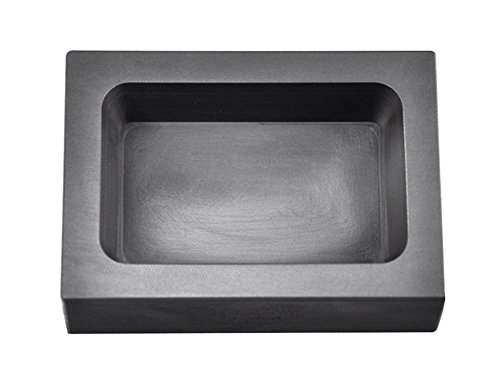 PMC Supplies LLC 1 lb Pound Rectangle Copper CU Graphite Ingot Mold For Melting Casting Refining Scrap Jewelry by PMC Supplies LLC