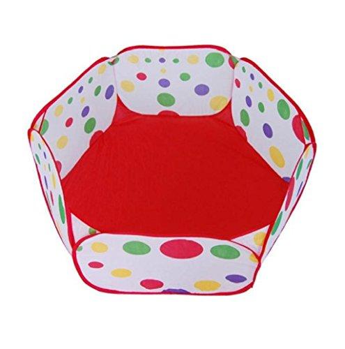 Black White Polka Dot Pram Red Flower - 6