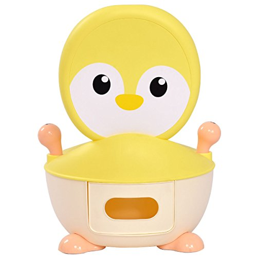 Yellow PP Baby Potty With Ebook (Halloween Potion Making Games)