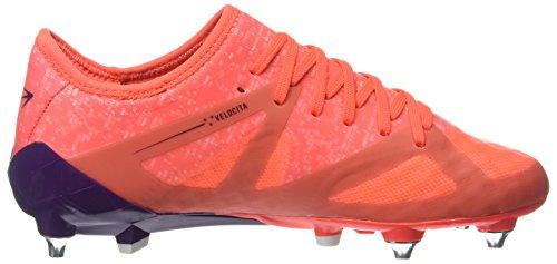 Umbro Velocita III Pro SG, Scarpe da Calcio Uomo Multicolore (Fiery Coral / Winter Bloom / White)