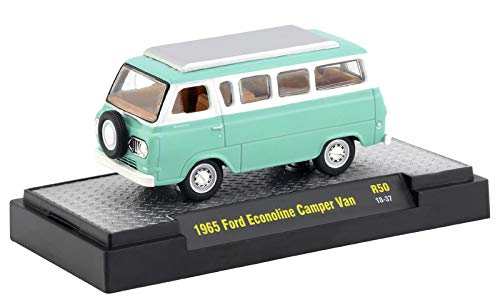 M2 Machines Auto Trucks Release 50 1965 Ford Econoline Camper Van R50