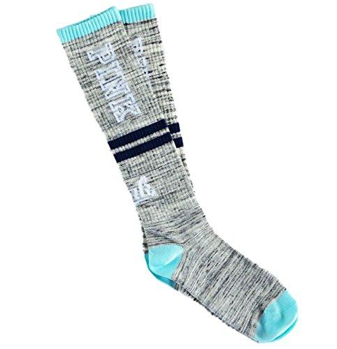 15782ee5fb Victoria s Secret Pink Knee High Socks GREY MARL SEAFOAM NAVY BLUE One Size  - Buy Online in Oman.