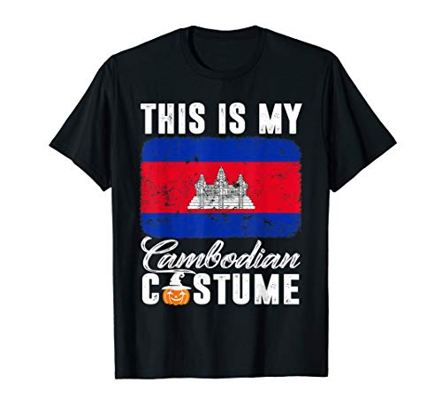 Cambodia Flag Tshirt This Is My Cambodian