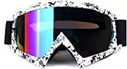 Motorcycle Motocross MX Racing Goggle Dirtbike Cycling Goggles Skiing Adjusted Strap KG31