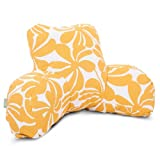 Majestic Home Goods Plantation Reading Pillow, Yellow