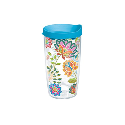 Tervis Floral Tumbler Travel Clear product image