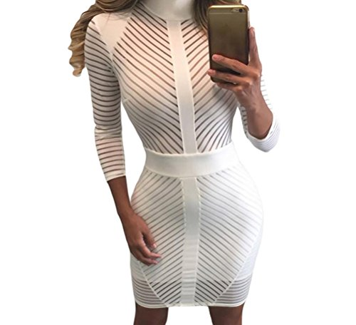For Tron Outfit Sale (YFFaye Women's Sight to See Striped)