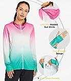 Libin Women's Long Sleeve UPF 50+ Sun Protection