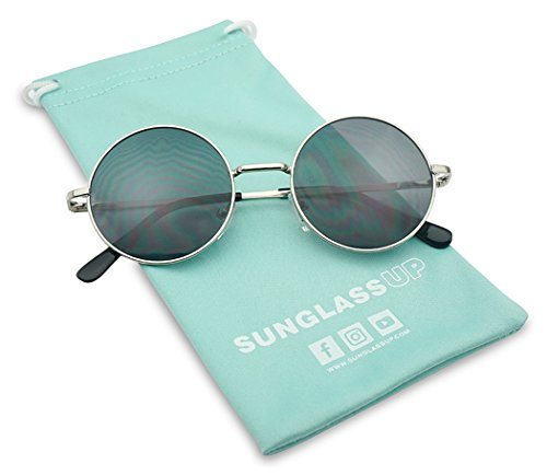 Sunglass Stop - Vintage Small Round Circle Hipster 1960s Trendy Sunglasses - 1960 Sunglasses