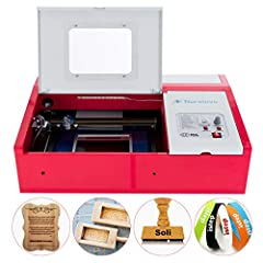 This CO2 Laser Engraver Cutter is able to cut through a wide range of materials and deliver excellent precision with laser beam cutting/engraving technology that makes them such a hit in various industries and among DIY lovers. It inte...