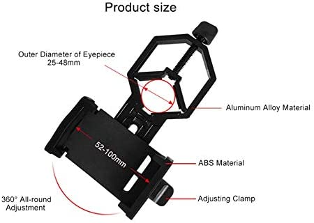 Portable cm-4 Microscope Clip Universal Mobile Phone Camera Adapter Holder