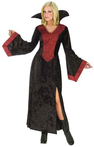 Red R (Red Vampiress Adult Costumes)