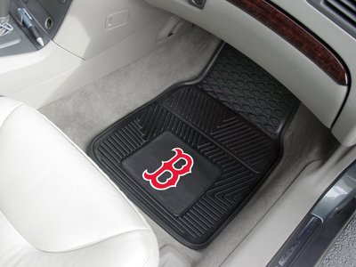 Heavy Duty Vinyl Car Mats - Set of 2 - Boston Red Sox