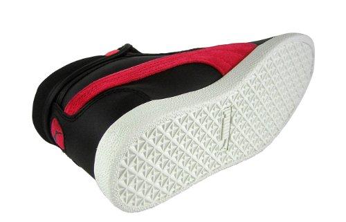 Puma - Puma Sneakers Cuir MID L MAGIC TOP (351427-1) NOUVEAU noir (noir / rose fluo)