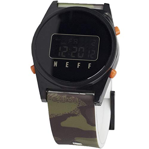 ital Athletic Watch with Silicone Band Unisex, nu camo/black One Size ()