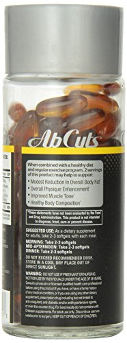Ab Cuts Sleek & Lean Midsection Solution, 120 Softgels