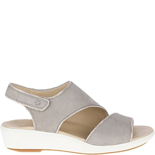(Hush Puppies Womens Lyricale Slingback Ice Grey Nubuck 11 M)