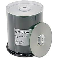 VERBATIM 100PK CDR 52X 700MB 80MIN / 95256 / by Verbatim