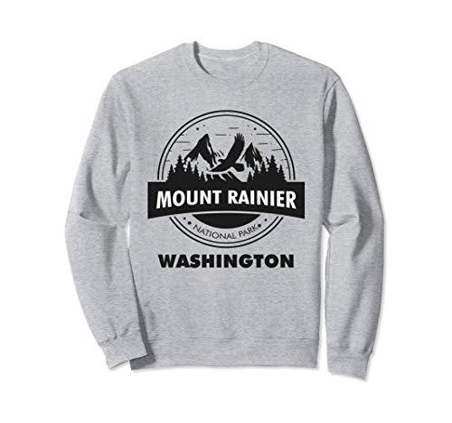 Mount Rainier National Park WA Camping Hiking Lover Sweatshirt