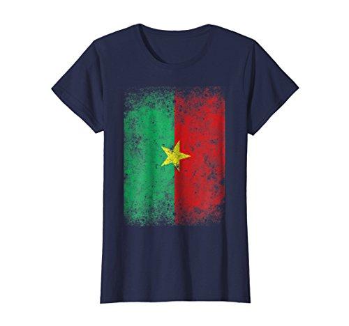 Womens Burkina Faso Flag Burkina Faso Gift T-Shirt Medium Navy