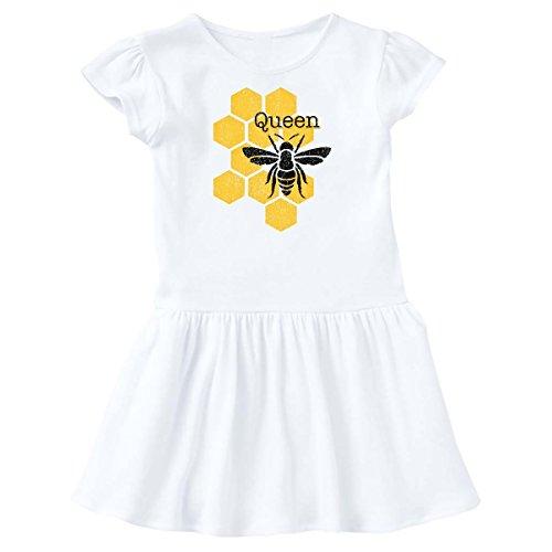 inktastic - Honeycomb Queen Bee Toddler Dress 3T