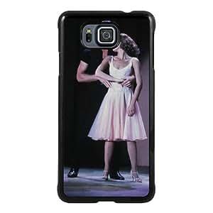 Samsung Alpha Phone Case,Dirty Dancing Black Pattern Cool Design Samsung Galaxy Alpha Cover Case