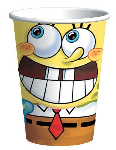 Spongebob Classic 9 oz. Paper Cups (8 (Adult Themes In Spongebob)