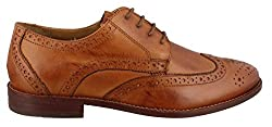Florsheim Men's Montinaro Wingtip Dress Shoe Lace Up Oxford, Saddle Tan, 14 D Us