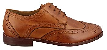 Florsheim Men's Montinaro Wingtip Dress Shoe Lace Up Oxford, Saddle Tan, 14 D Us 0