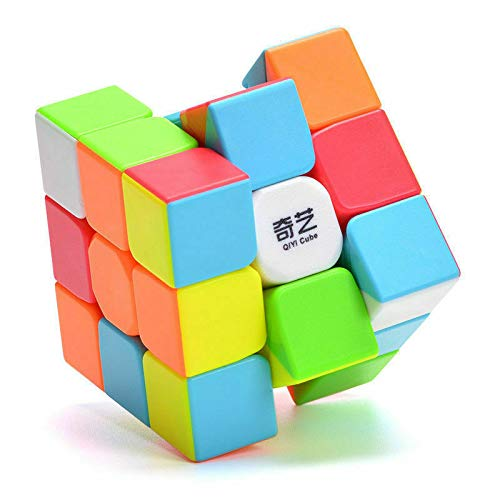 (Z QiYi Warrior W 3x3x3 Magic Cube Stickerless Smooth Twist Speed Cube Puzzle Toys )